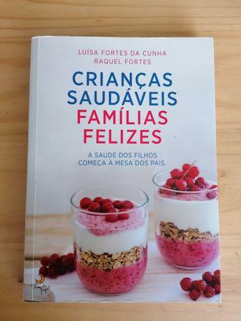 Livro Receitas 'Crianças Saudáveis, Famílias Felizes'