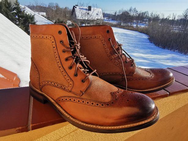 Eleganckie nowe buty Ted Baker 49 UK 15 US 16 33cm