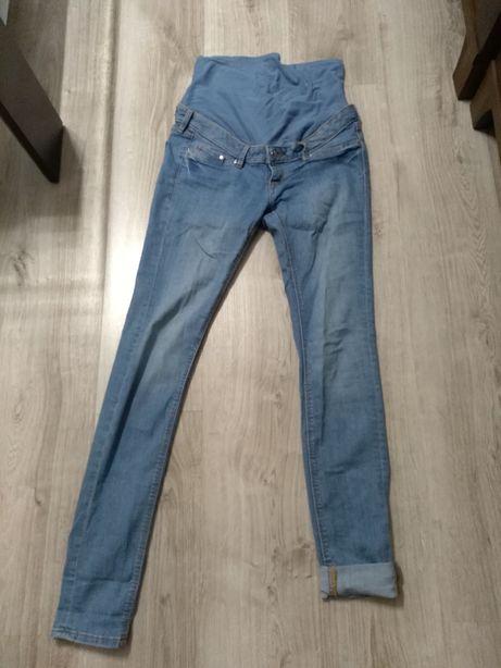 Spodnie ciążowe, jeansy, rurki H&M