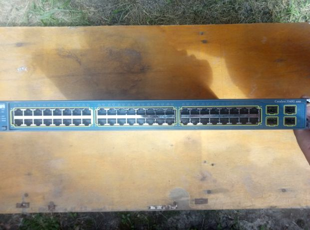 Коммутатор CISCO WS-C3560G-48TS-S
