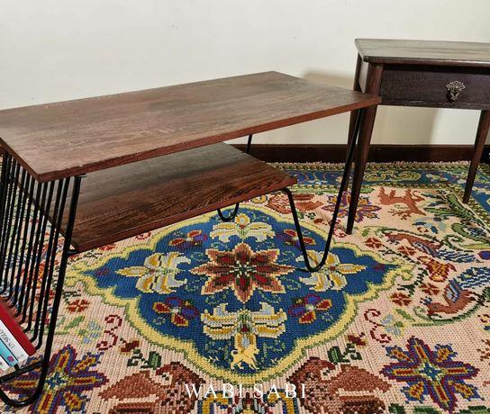 Madeira de Sucupira Preta,mesa de centro e mesa de apoio