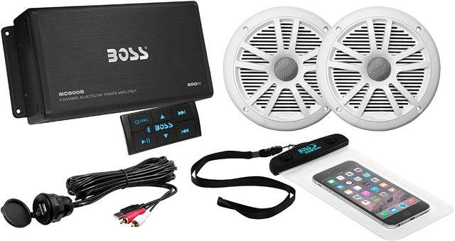 Магнитола влагозащищенная BOSS Audio MC900B Marine, Bluetooth, USB