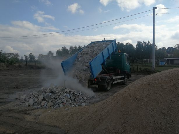 Kontenerowy wywóz odpadów - GRUZ - MIX remontowy - drewno - makulatura