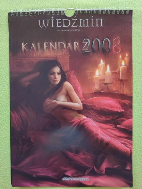 Wiedźmin Kalendarz Edycja Kolekcjonerska