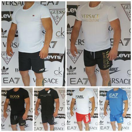 Mega okazja krótkie spodenki męskie jakość Premium, koszulki