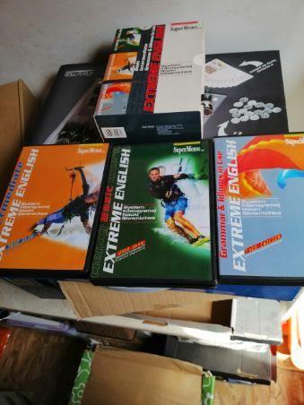 Super Memo -zestaw płyta plus książki do Angielskiego