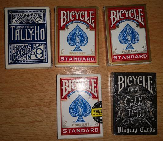 Karty Bicycle, Tally-Ho używane