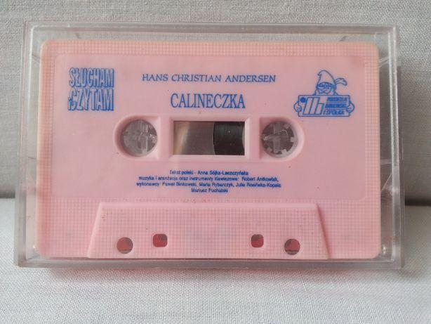 Kaseta magnetofonowa Calineczka bajka muzyczna
