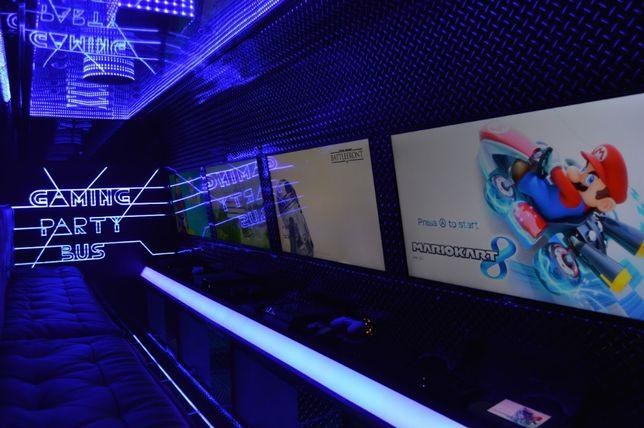 Game Party Bus -Animacje , Animator, Urodziny, Wesela , Kawalerskie