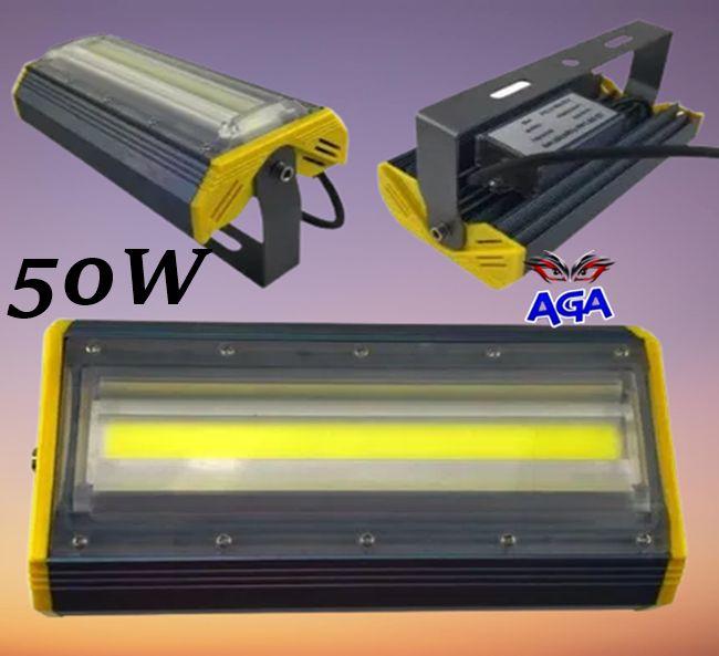 Halogen Lampa 50W Liniowy - 5000 LM Zewnętrzny/Wewnętrzny