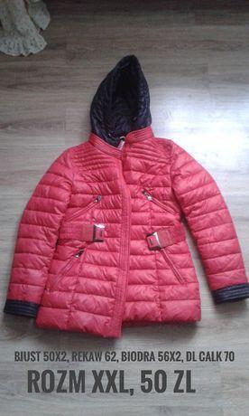 ciepła zimowa kurtka