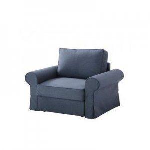 IKEA BACKABRO pokrycie na fotel Jonsboda niebieski