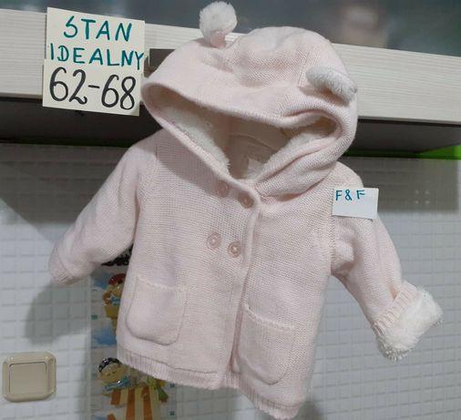 Sweter na misiu 62 68 sweterek bluza ubranka miś