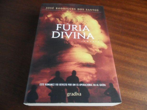 """""""Fúria Divina"""" de José Rodrigues dos Santos"""