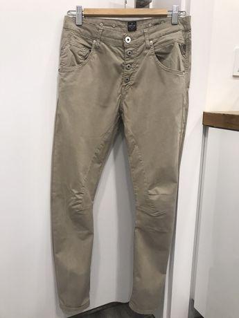 Spodnie Ala chinosy Replay rozmiar 25, cena reg. 490 zł, zara,beżowe