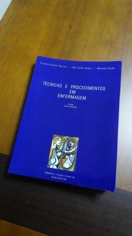 Técnicas e procedimentos em Enfermagem (1999) - Cristina Paulino