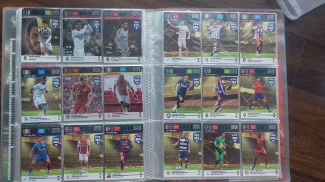 Karty piłkarskie Panini 118 szt.