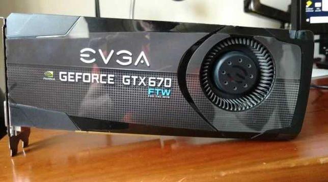 EVGA GTX 670 ftw