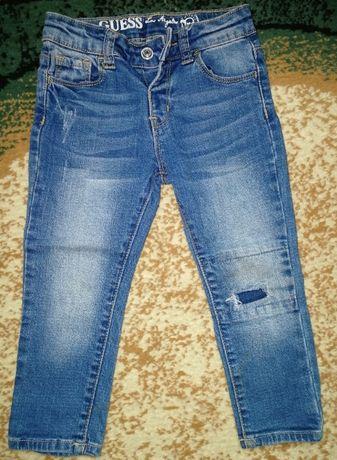 Джинсы guess jeans для мальчика на 1, 5 года (18месяцев)