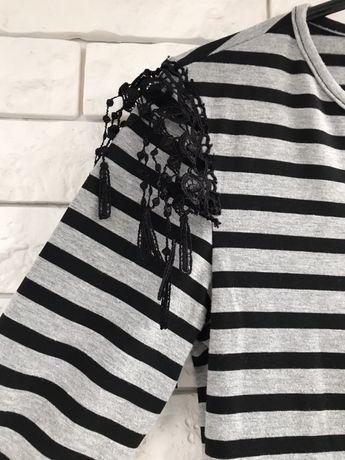 Полосатое платье продам