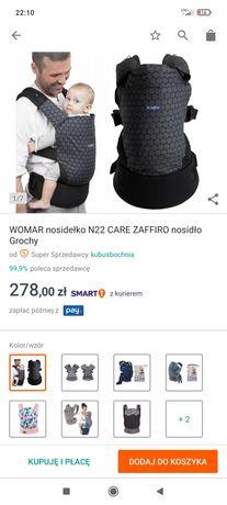 Nosidełko ergonomiczne n22 zaffiro