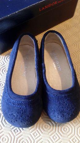 Sapatos menina azul marinho