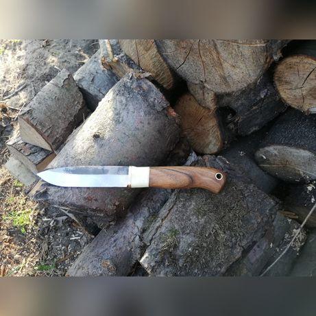 Nóż ręcznie robiony, stal węglowa, hand made
