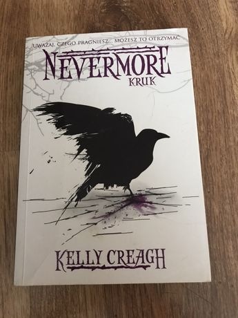 Książka Nevermore Kruk Kelly Creagh romans fanstasty young adult