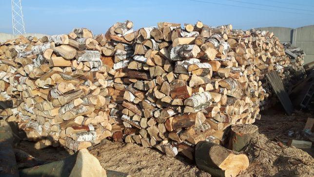Drewno Kominkowe Opałowe Liściaste Solidnie transport