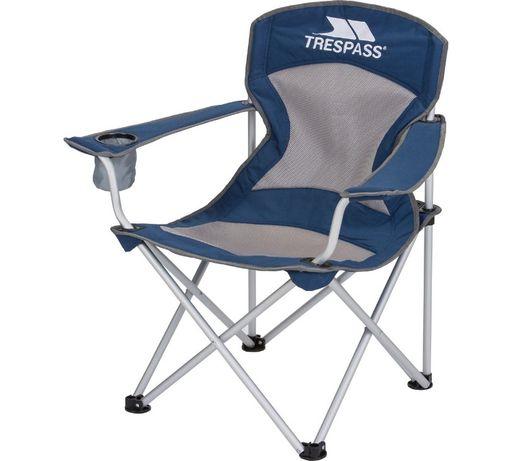Krzesło Trespass Aluminium Deluxe wędkarskie kepingowe