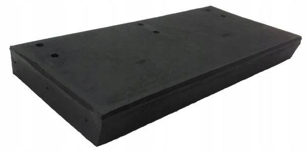 Lemiesz gumowy do pługów 525x250x50 zbrojony