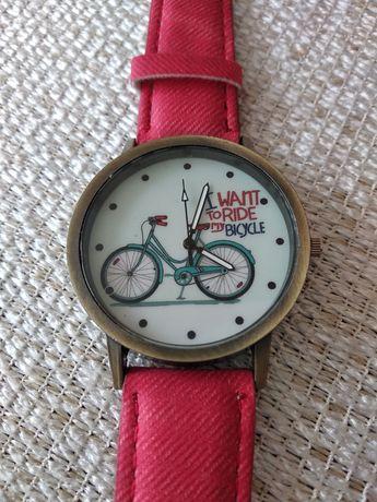 Zegarek ręczny - I want to ride my bicycle! Dla niej i dla niego!