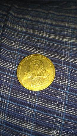 Монета гривна евро 1012