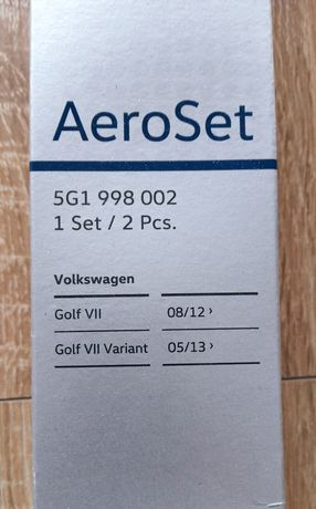 Pióra wycieraczek kpl. VW Golf VII/Variant oryginalne, nowe