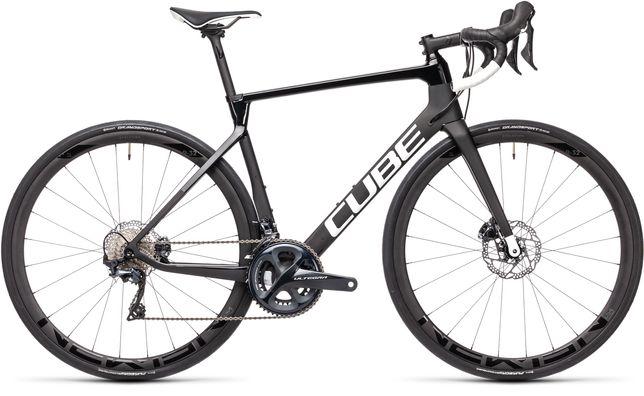 Bicicleta estrada Cube Agree C62 race Carbono Nova