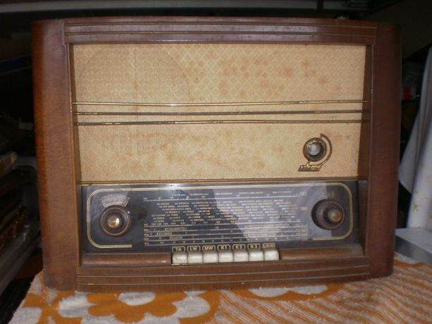 Radio lampowe niemieckie . Okazja !!