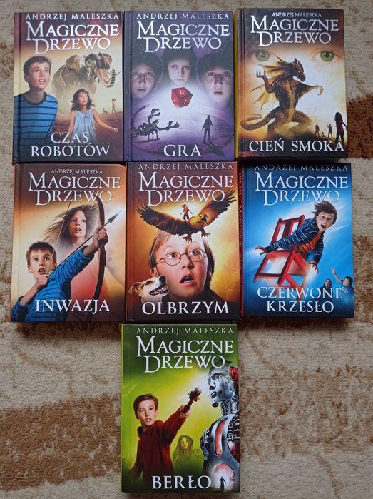 """Andrzej Maleszka """"Magiczne drzewo"""" 7 książek Bydgoszcz - image 1"""