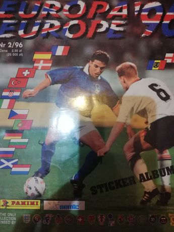 Naklejki Panini UEFA Euro 1996 England