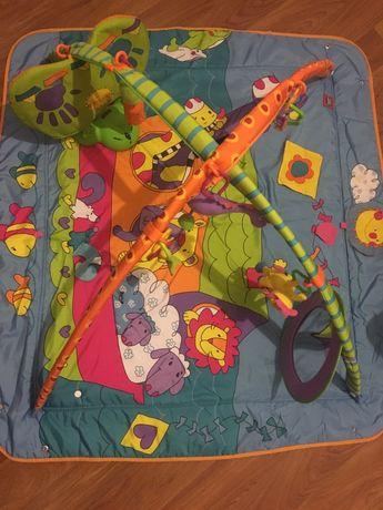 Tiny love зоосад развивающий коврик
