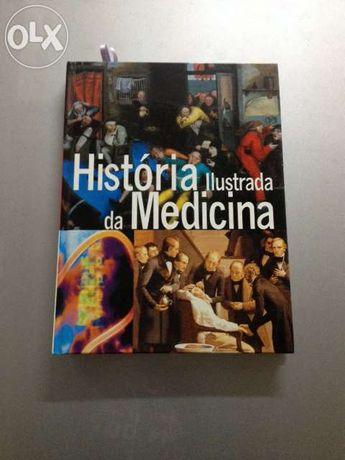 """Livro """"História Iustrada da Medicina"""""""