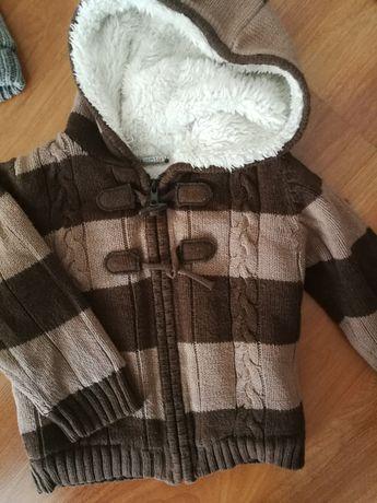Sweter ocieplany, przejściówka