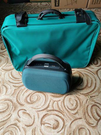 Walizka z kuferkiem