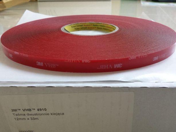Bezbarwna taśma 3M VHB 4910 rolka 33m