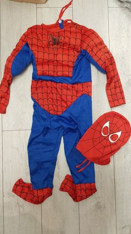 Strój Spidermen rozmiar 128-134