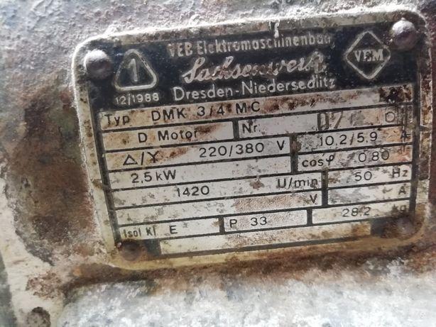 Электродвигатель vem dmk 2.5квт