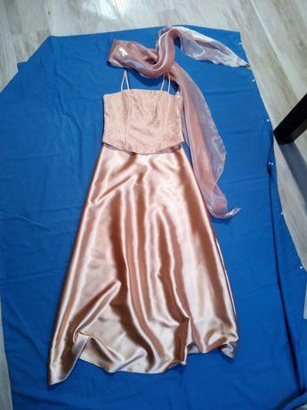 Sukienka weselna długa plus gratisy