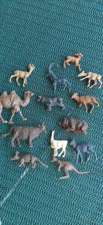 Kolekcja zwierzątka zwierzęta dzikie z PRL lata 70 -80 te