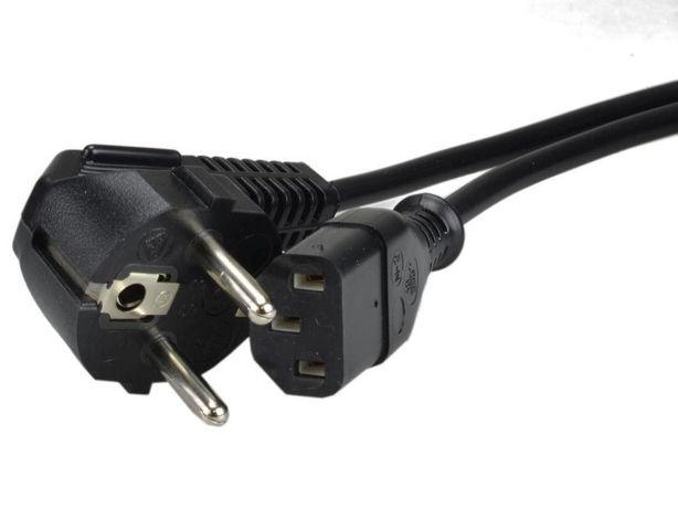 Kabel zasilający AC do komputera IEC320 1,5m
