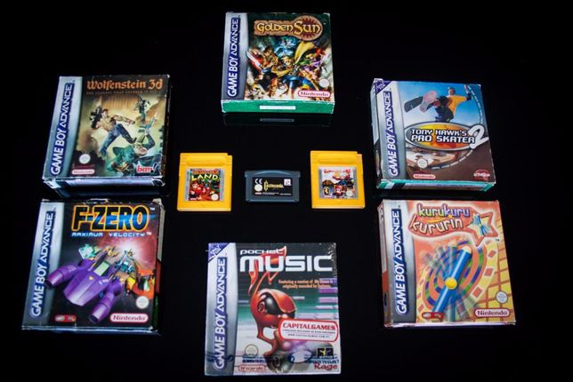 Gameboy Advance Jogos Completos