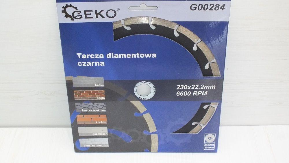 **Tarcza Diamentowa Beton Kostka 230mm GEKO Lombard Stówka** Grudziądz - image 1